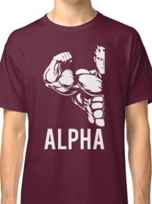 Alpha Fitness Running Muscle BodyBuilding Classic T-Shirt