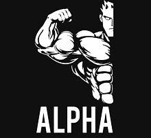 Alpha Fitness Running Muscle BodyBuilding Unisex T-Shirt