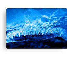 Sapphire blue Canvas Print
