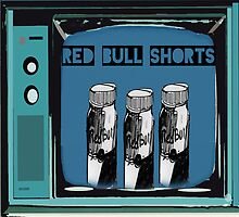 red bull shorts  by FINN-D