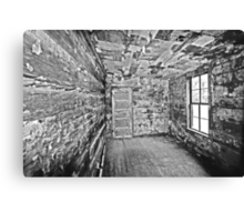 The Newspaper Room Canvas Print