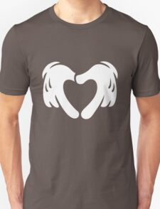Heart Shaped Cartoon Love Unisex T-Shirt