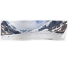 Athabasca Glacier - Panorama Poster