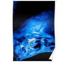 Sapphire Blue 3 Poster