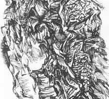 Botanica series, drawing №2 by tensil