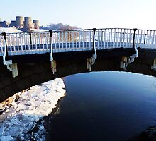 Victorian Road Bridge, and the Castle!! Rhuddlan. by artfulvistas
