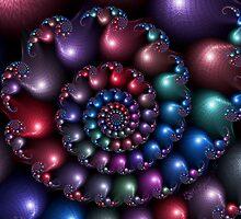 Satin Spiral by wolfepaw