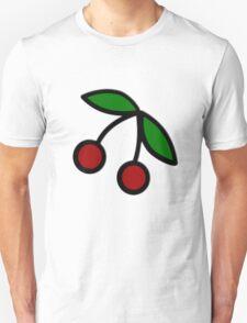 Cherries Bold Illustration T-Shirt