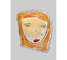 Red-Haired Girl Photographic Print