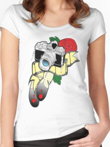 Picture perfect with colour Women's Fitted Scoop T-Shirt