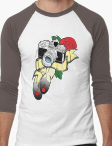 Picture perfect with colour Men's Baseball ¾ T-Shirt