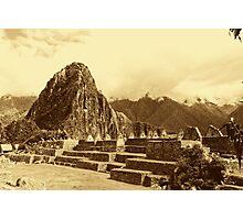 Vintage ruins Photographic Print