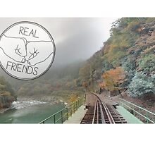 Real Friends Logo by MoonStatic