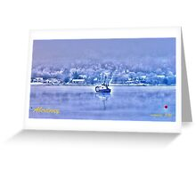Aberdovey  HDR Greeting Card