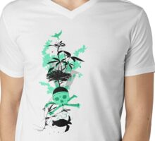 Land & Sea Mens V-Neck T-Shirt