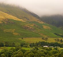 Misty Mountains in The Lakes  by DIANE  FIFIELD