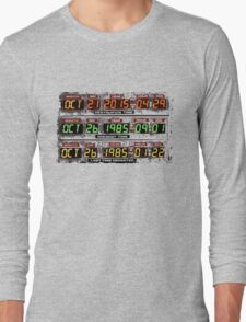 Back to the Future Long Sleeve T-Shirt
