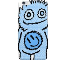 Mister Happy Belly Blue iPhone Case/Skin