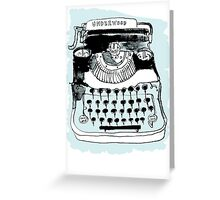Underwood Greeting Card