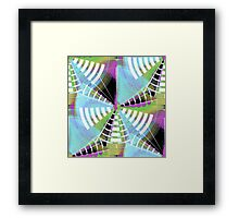 Filigree Meshweb Pattern 4 Framed Print