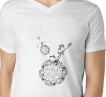 Gator Planets Mens V-Neck T-Shirt