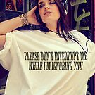 Don't Interrupt by Andrew Gordon