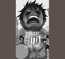 "Luffy  ""Straight Outta LogueTown"" Unisex T-Shirt"
