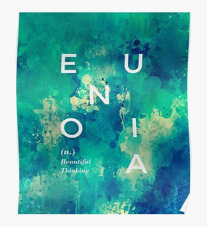 * Eunoia* #redbubble Poster
