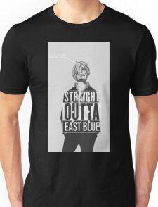 "Sanji ""Straight Outta East Blue"" Unisex T-Shirt"