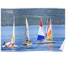 Sail Boat Race - Meaford, ON Poster