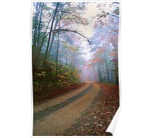 COUNTRY ROAD,AUTUMN Poster
