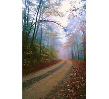COUNTRY ROAD,AUTUMN Photographic Print