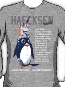 Haecksen miniconf LCA2011 - Bootleg shirt T-Shirt