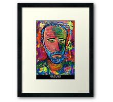 Philip K. Dick Framed Print