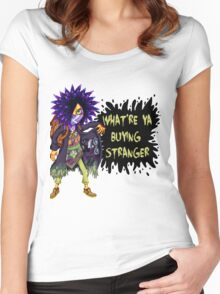 Spyke Merchant Women's Fitted Scoop T-Shirt