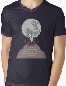 Rafiki -The Past Can Hurt- Mens V-Neck T-Shirt