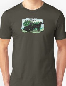 Black Curly Coated Retriever  T-Shirt