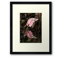 It Takes Work To Be Beautiful! Framed Print