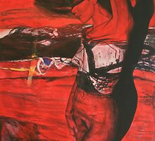 Crimson Facade by FairchildArtist