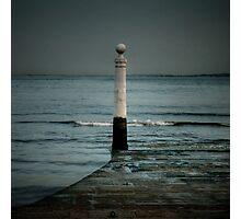 Lisbon pier Photographic Print