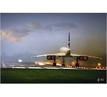 Concorde Takeoff Photographic Print