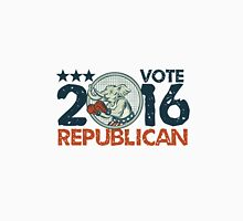 Vote Republican 2016 Elephant Boxer Circle Etching Unisex T-Shirt