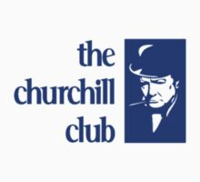 The Churchill Club Logo t-shirt by churchillclub
