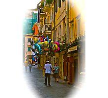 Streets Of Corfu (Greece). by Brown Sugar . Merry Christmas. F*. Favorites: 2 Views: 436 .  Kalimera Hellada ! Epitichia ! Photographic Print