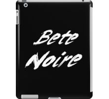 Bete Noire - Graffiti (White) iPad Case/Skin