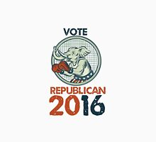 Vote Republican 2016 Elephant Boxer Etching Unisex T-Shirt