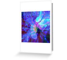 Mystery Abstract Greeting Card