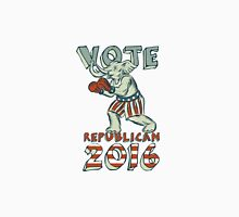 Vote Republican 2016 Elephant Boxer Isolated Etching Unisex T-Shirt