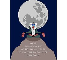 Rafiki -The Past Can Hurt- Photographic Print