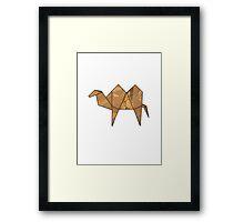 Origamicamel Framed Print